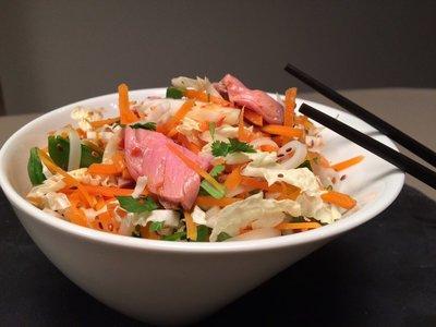 Oosterse beef salade